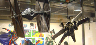 Star Wars Display at Te Papa Museum