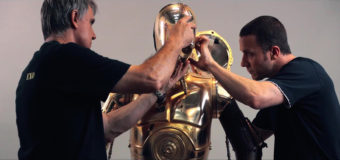 The Force Awakens Behind-the-Scenes Footage at SDCC