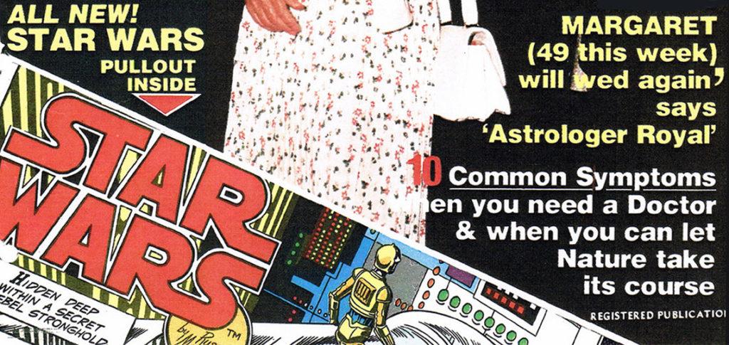 New Zealand Woman's Weekly Star Wars Comics