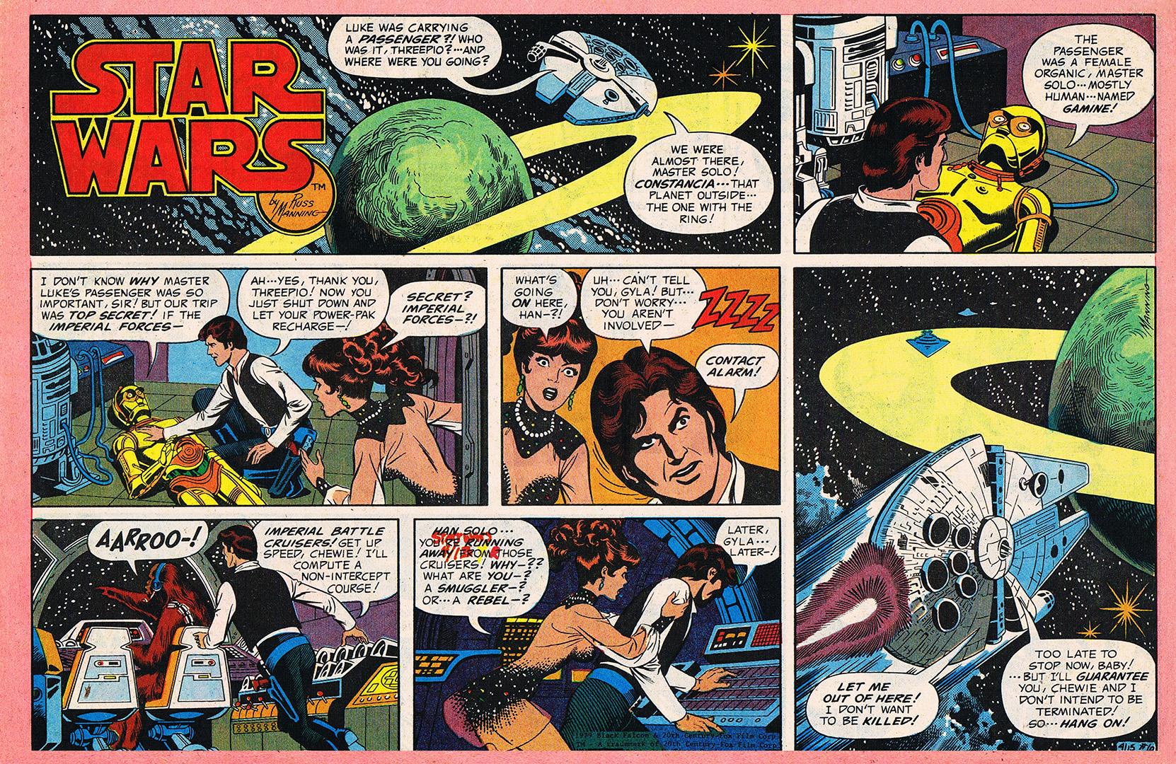 And hanis comic strip