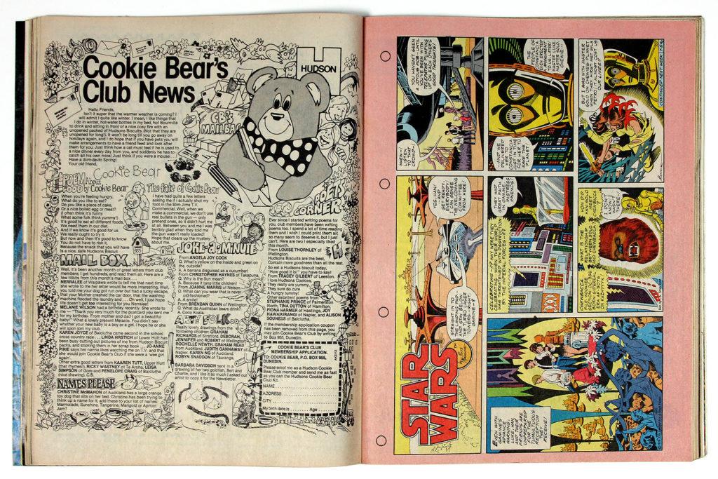 New Zealand Woman's Weekly Comic Strips