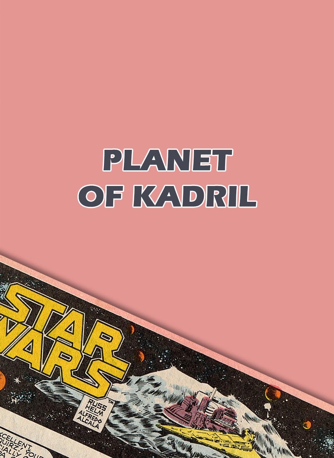 Planet of Kadril