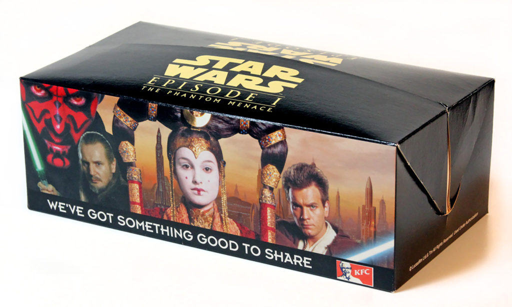 KFC 'The Phantom Menace' Party Box