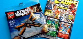 May 2016 KZone Magazine with Lego Star Wars Poe's X-Wing