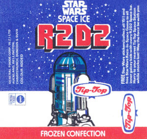Tip-Top Star Wars - R2-D2 Space Ice wrapper