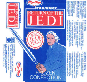 Tip-Top Jedi Jelly ice-block wrapper