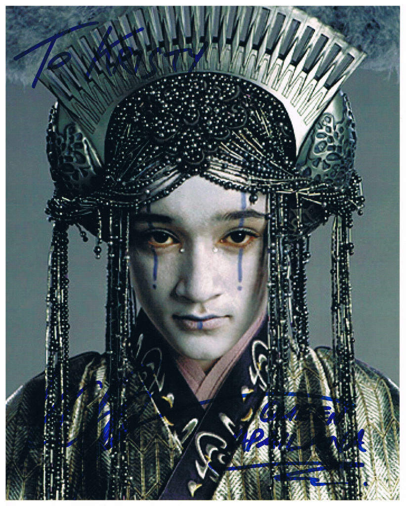 Keisha Castle-Hughes autograph