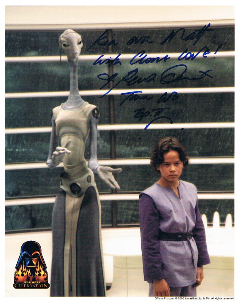 Rena Owen autograph