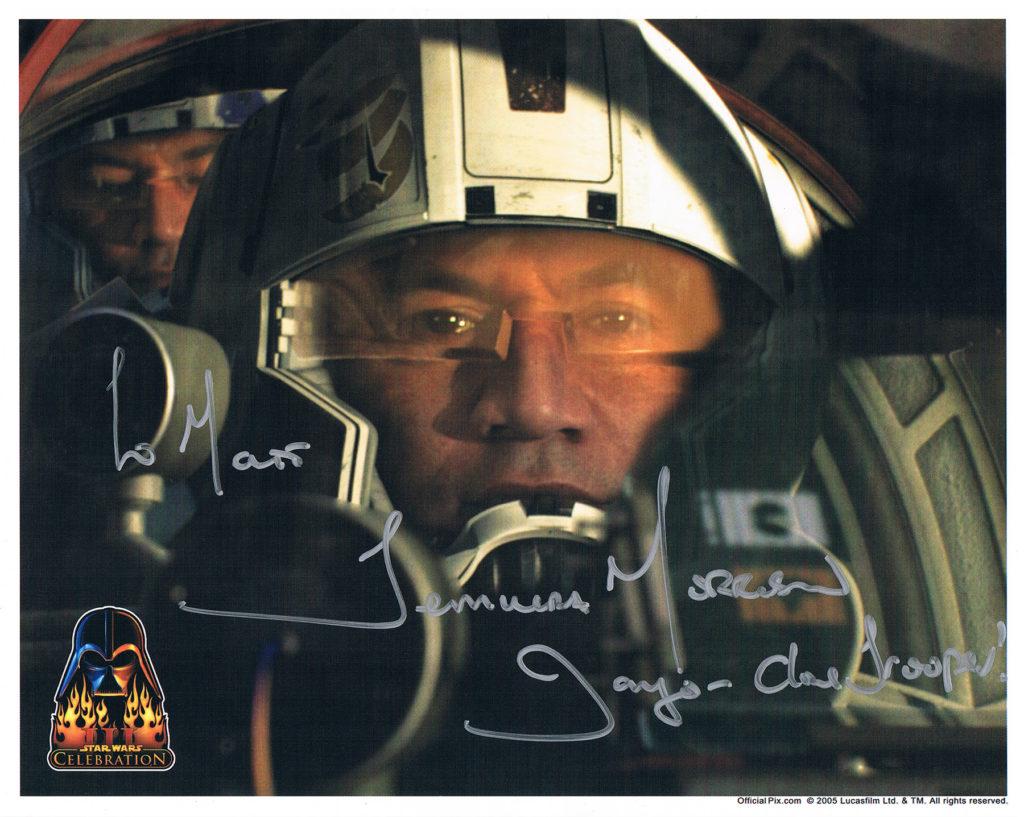 Temuera Morrison autograph