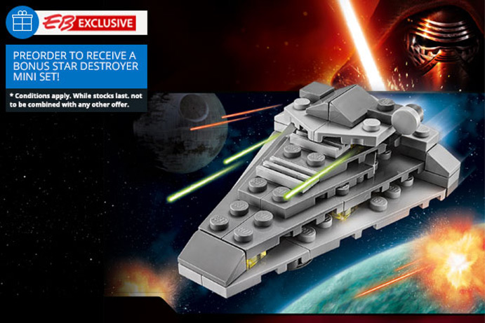 EB Games - Lego Star Wars: The Force Awakens (pre-order bonus)