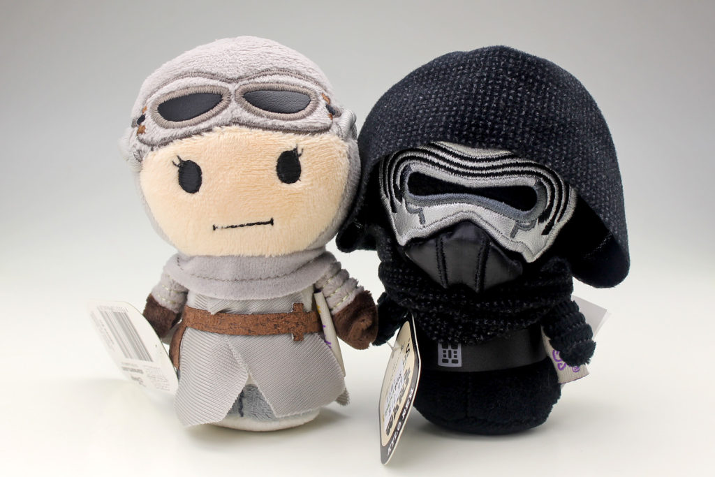 Itty Bittys - Rey and Kylo Ren (plush toys)