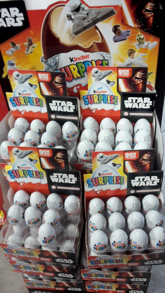 Star Wars Kinder Surprise