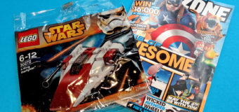 Free Lego A-Wing with the May Issue of KZone Magazine