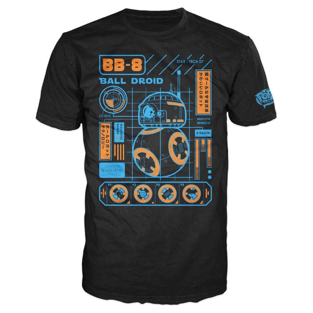 Mighty Ape - Pop! Vinyl men's BB-8 Blueprint t-shirt