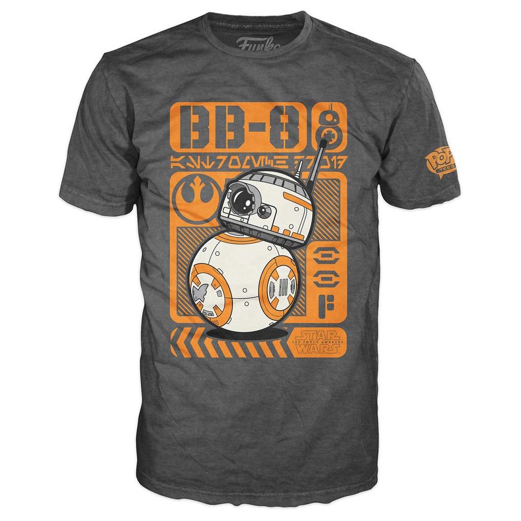 Mighty Ape - Pop! Vinyl men's BB-8 Poster t-shirt