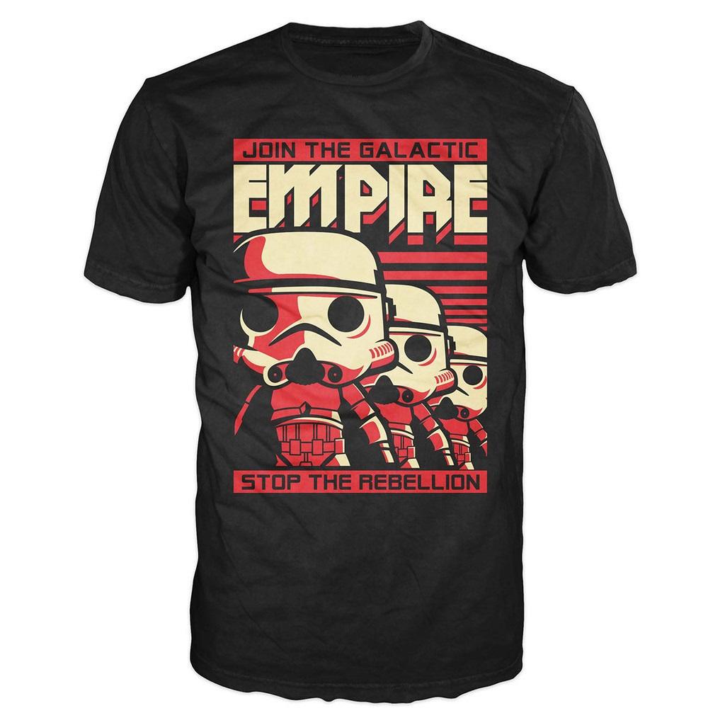 Mighty Ape - Pop! Vinyl men's Stormtrooper t-shirt