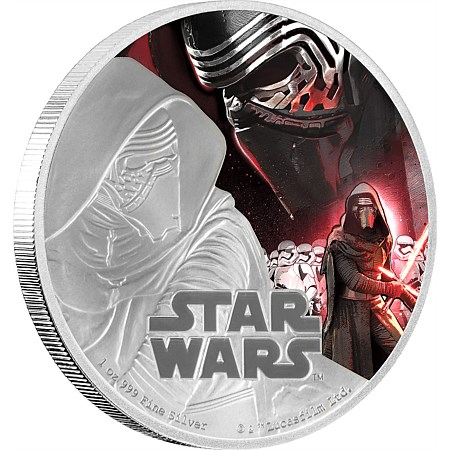 Star Wars coins NZ Mint