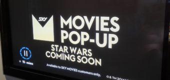 Star Wars Pop-Up Channel on SkyTV