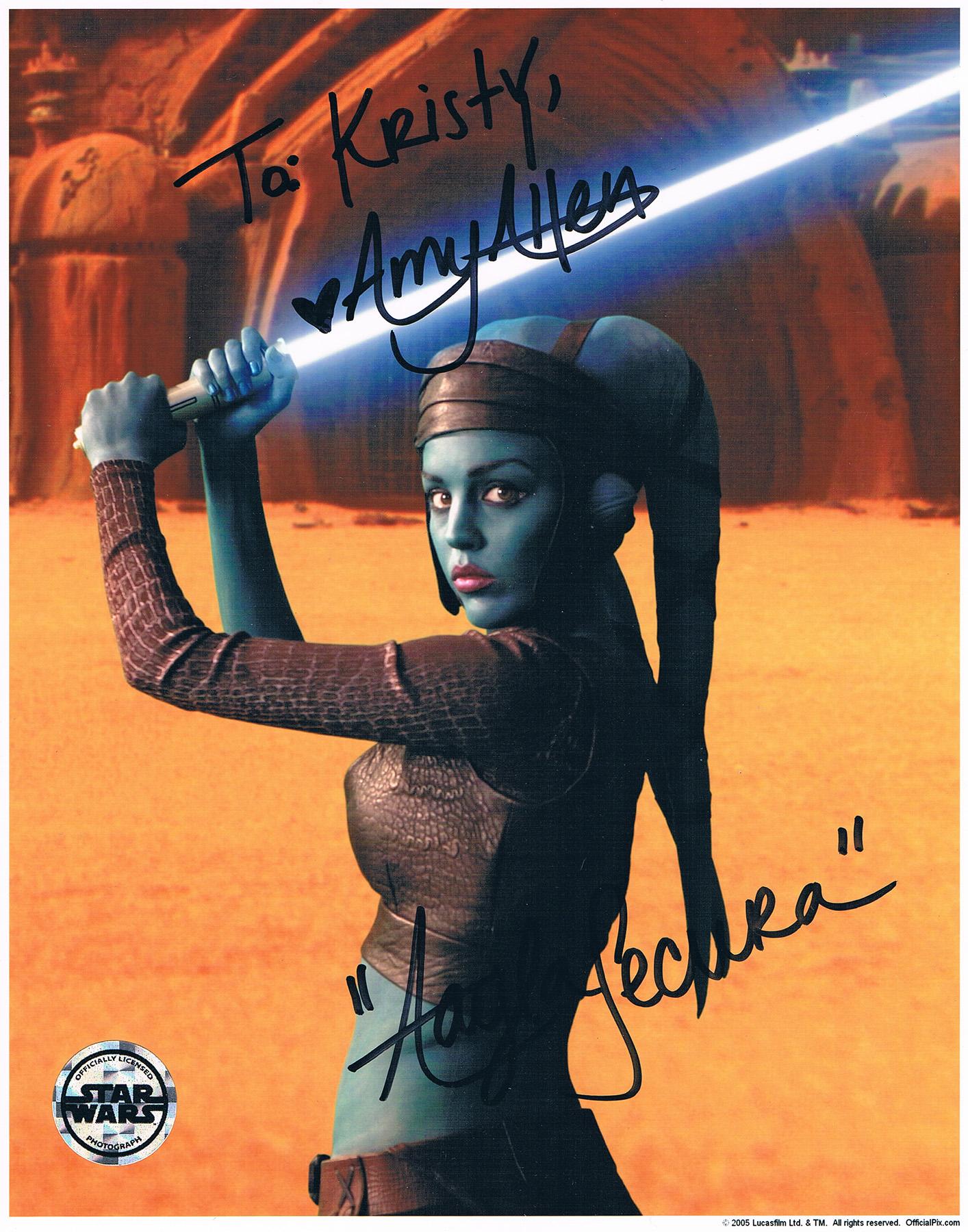 Amy Allen autograph