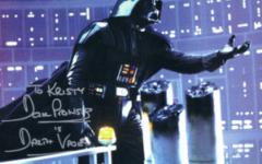 David Prowse autograph