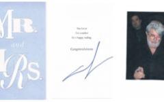 George Lucas autograph