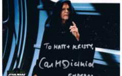 Ian McDiarmid autograph