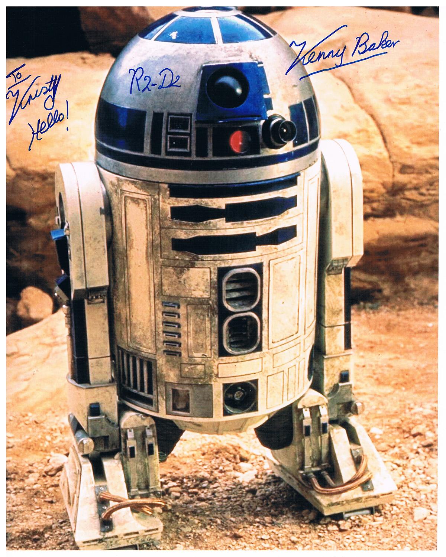 Kenny Baker autograph