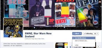 SWNZ on Facebook