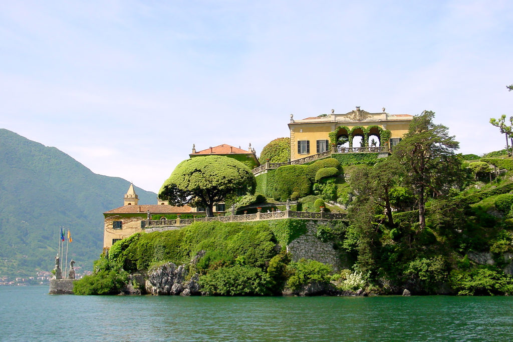 Villa Balbianello Star Wars