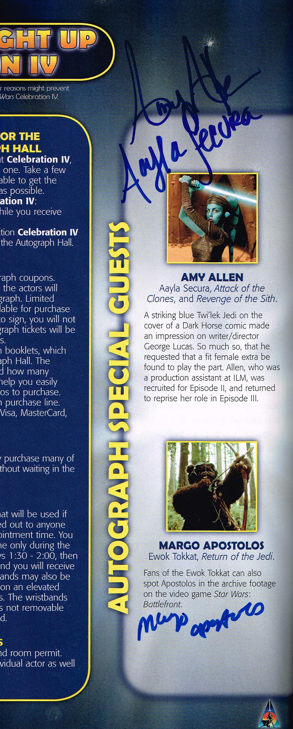 Amy Allen, Margo Apostolos