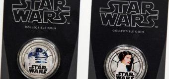 NZ Mint Star Wars Coins Shipping