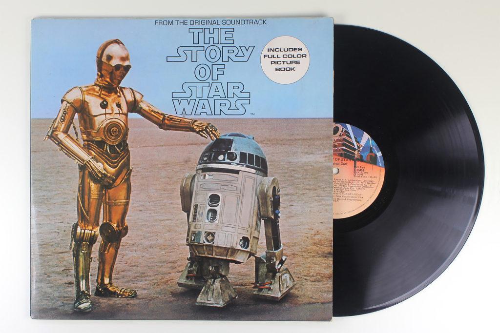 The Story of Star Wars on Vinyl LP - 1977