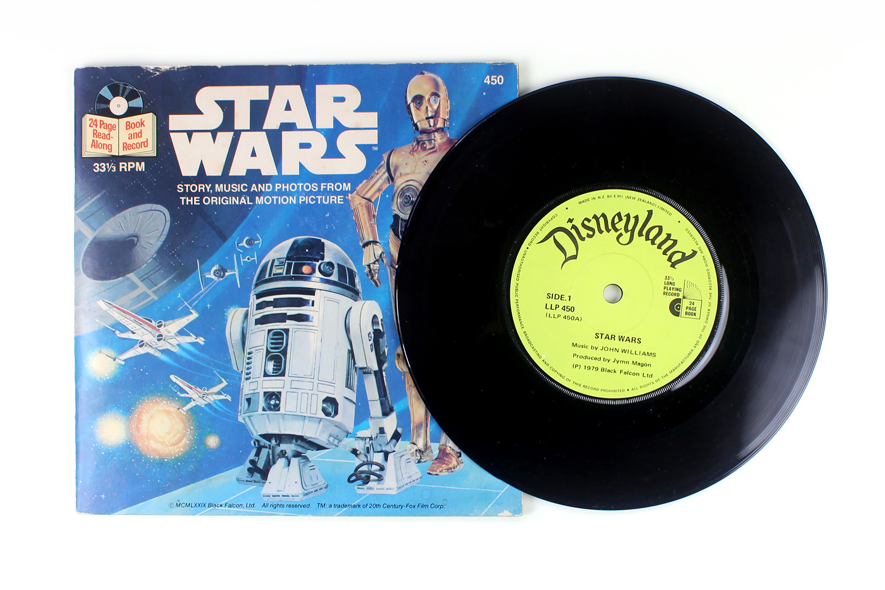 The Story Of Star Wars On Vinyl 1977 Swnz Star Wars