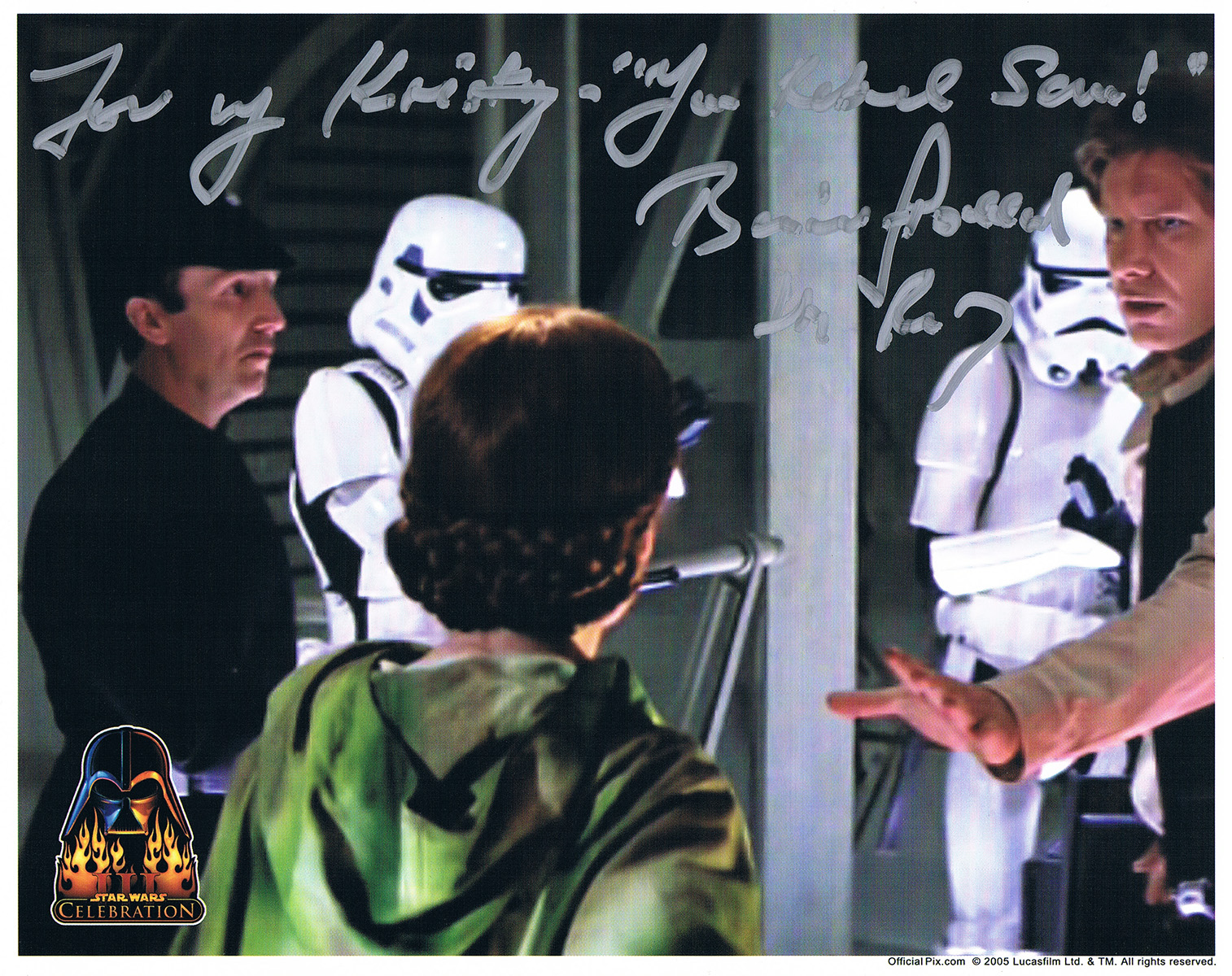 Barrie Holland autograph