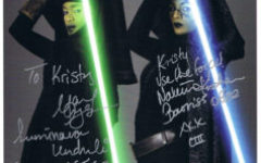 Mary Oyaya and Nalini Krishnan autographs