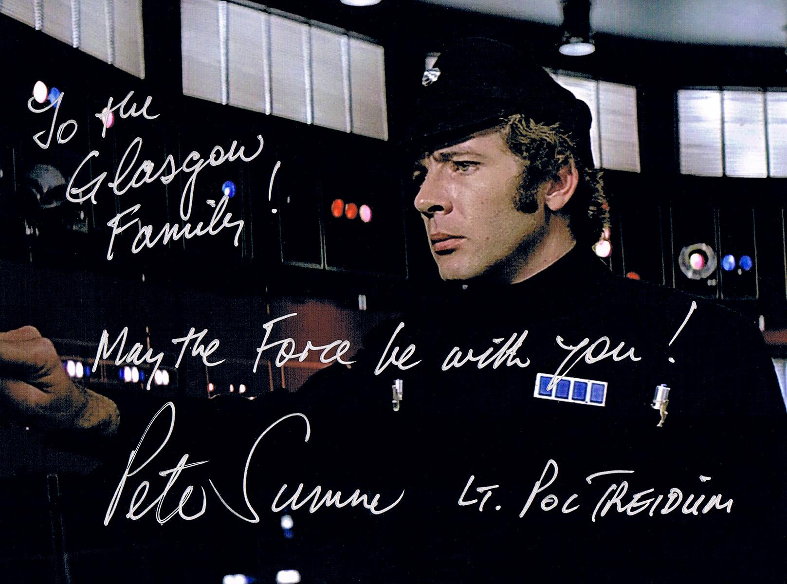 Peter Sumner autograph