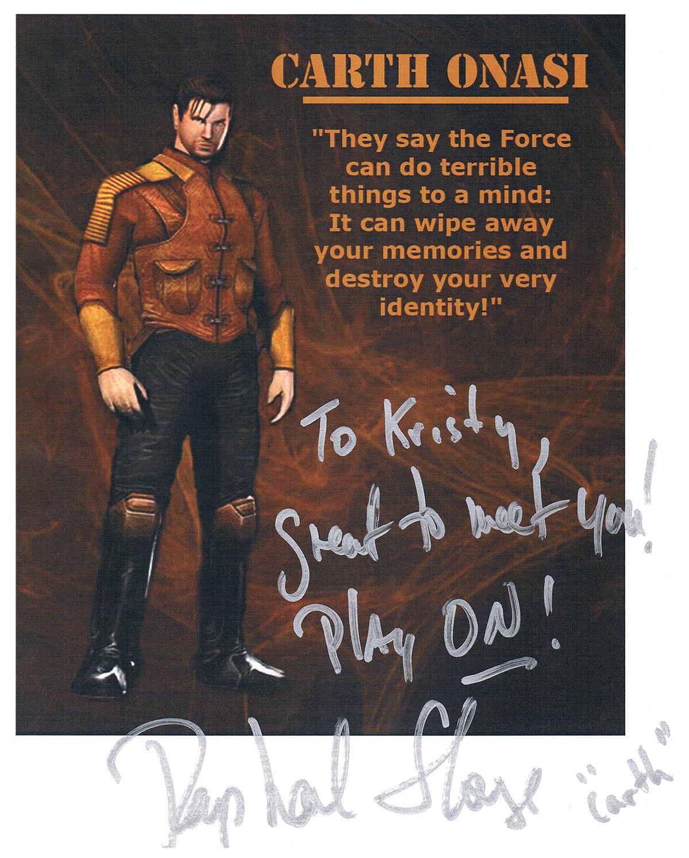 Raphael Sbarge autograph