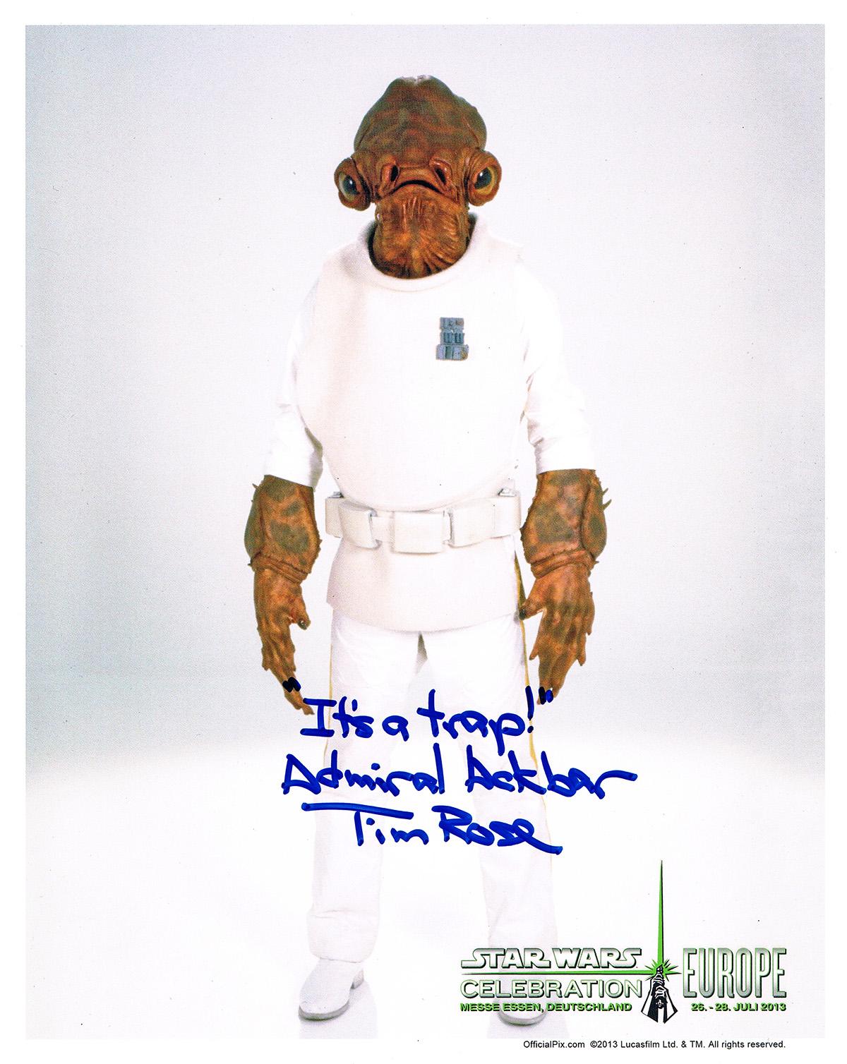 Tim Rose autograph