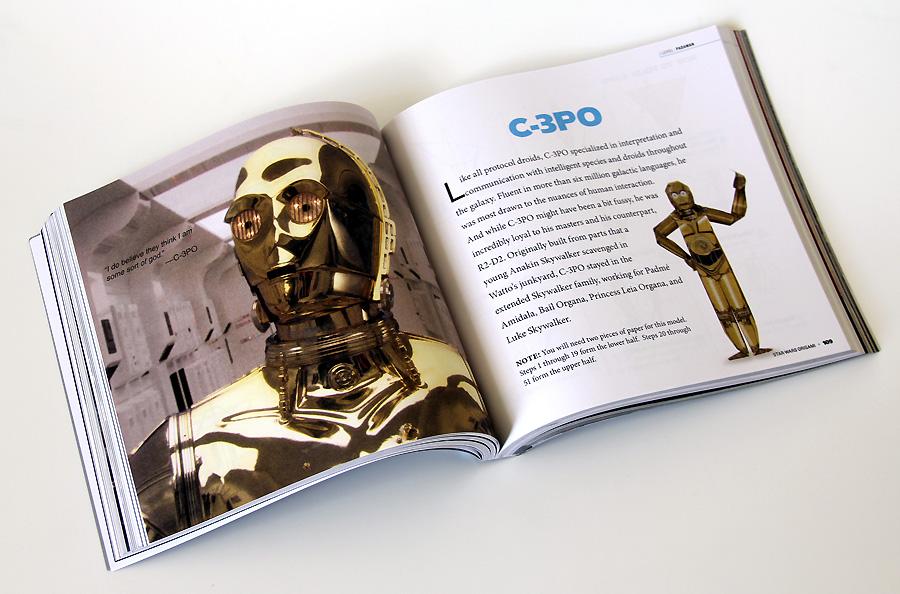 C3PO instrux | Origami Yoda | 594x900