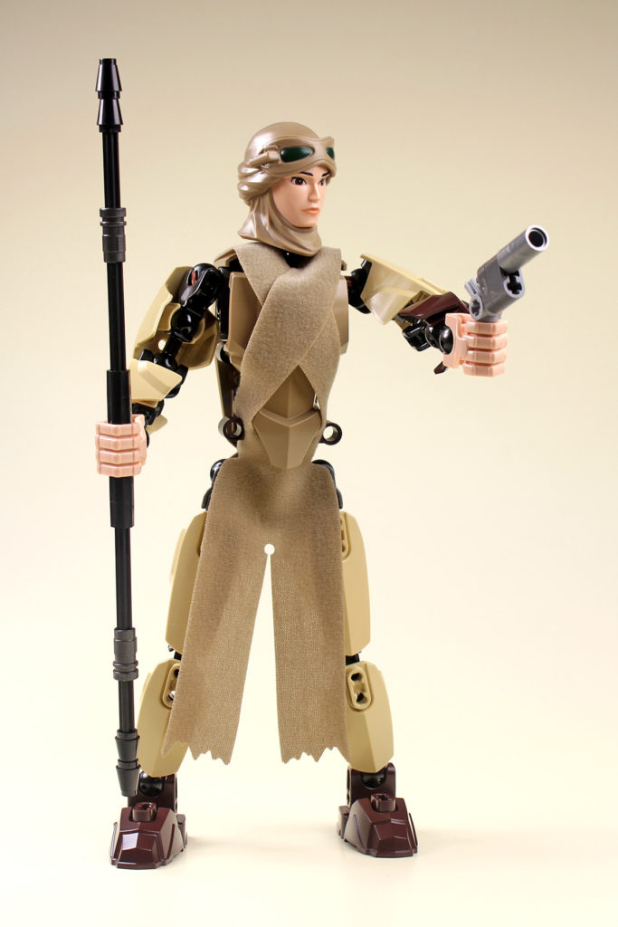Review - LEGO Rey Buildable Figure