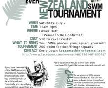 NZ Star Wars Miniatures Tournament