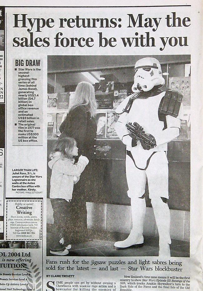 NZ Herald, 07 May 2005