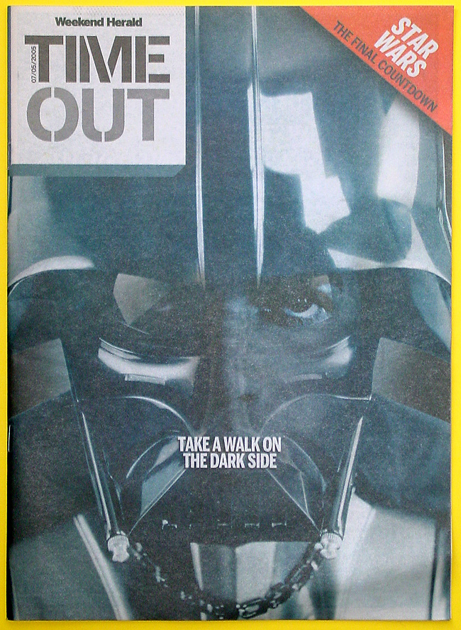 NZHerald Time Out magazine, 07 May 2011