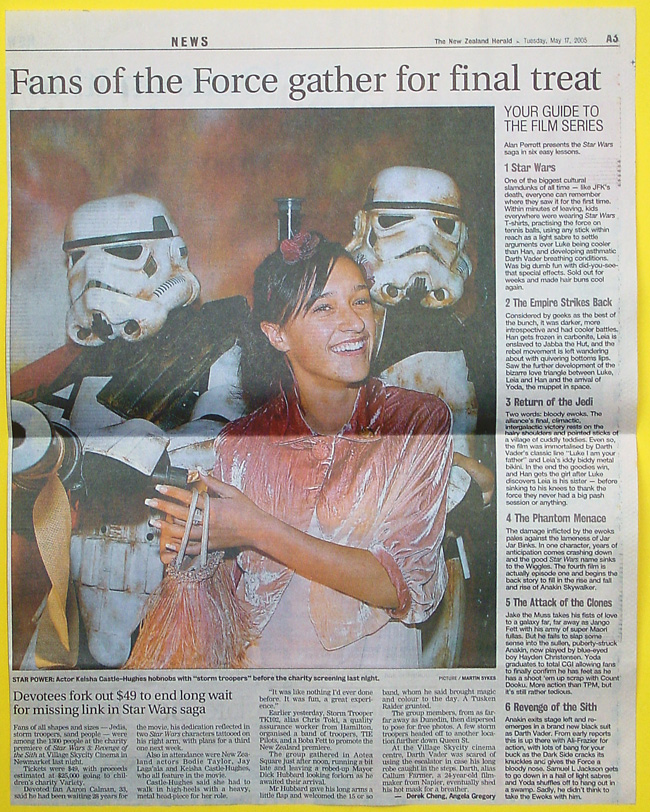 NZ Herald, 17 May 2005