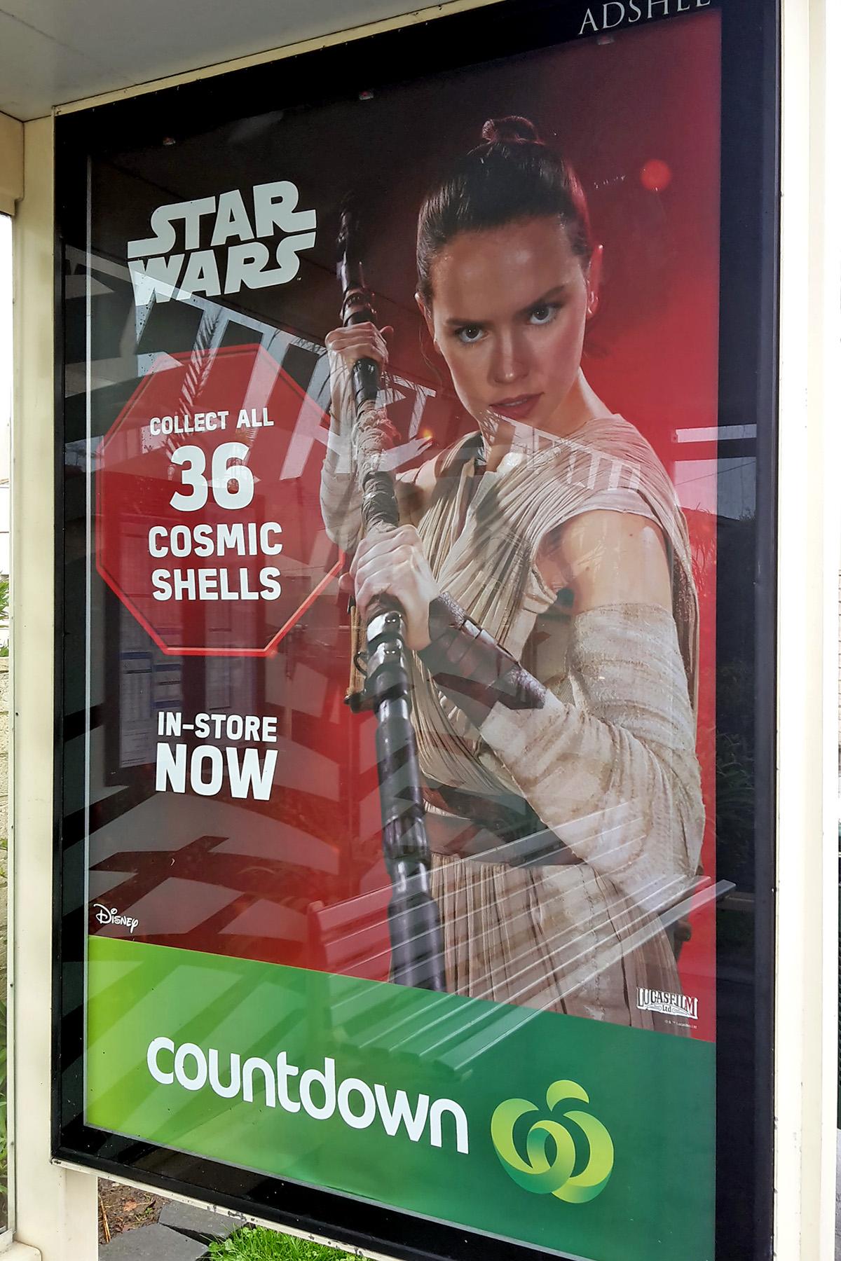 Countdown Supermarket - Bus Stop Advertising