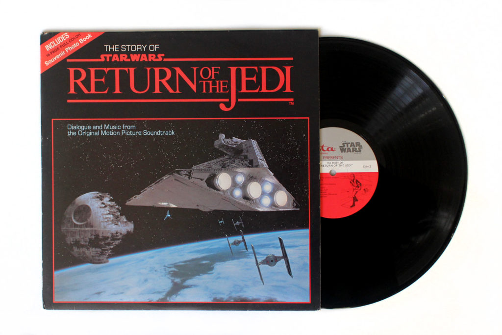 The Story of Return of the Jedi on Vinyl