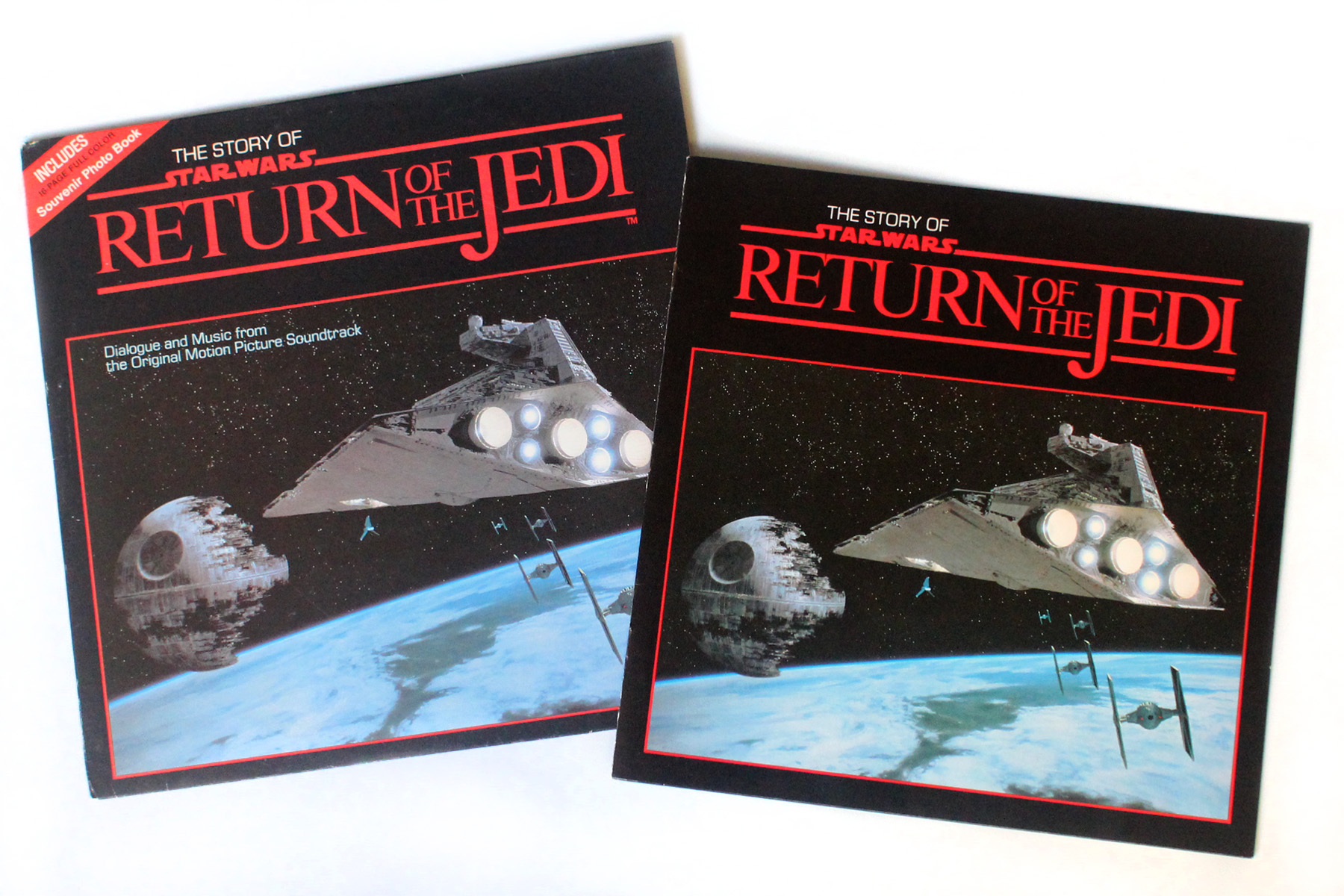 The Story Of Return Of The Jedi On Vinyl 1983 Swnz