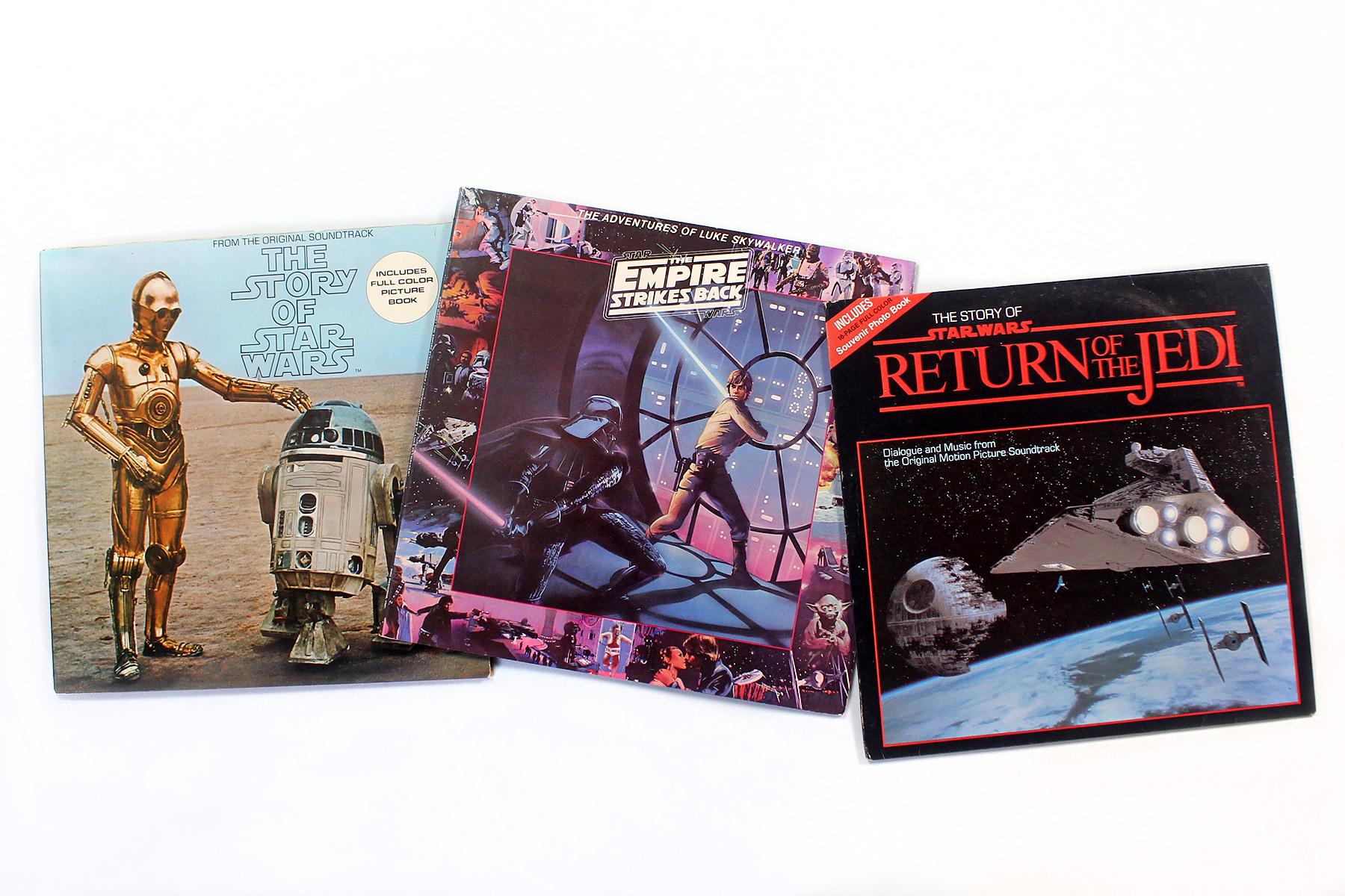 The Empire Strikes Back On Vinyl 1980 Swnz Star Wars