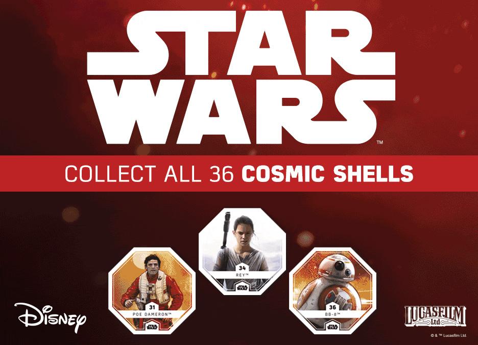 Star Wars Cosmic Shells Countdown