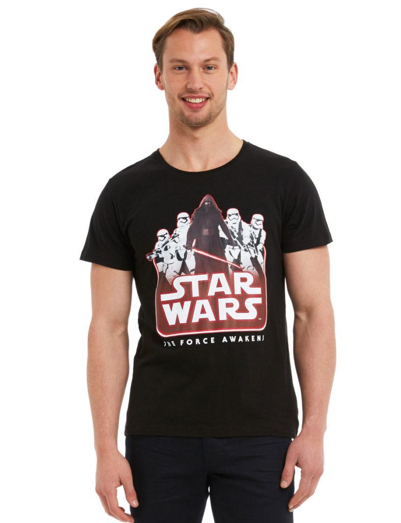 Farmers - men's Star Wars The Force Awakens t-shirt (black)
